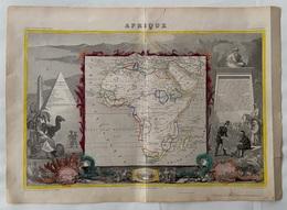 Afrique 1852 - Carte Geographique