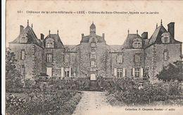 LEGE. - Château Du Bois-Chevalier, Façade Sur Le Jardin - Legé