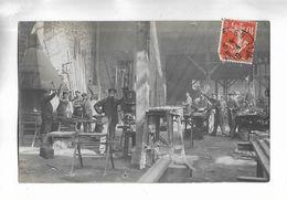 Carte-photo Non Localisée, D' Un Atelier Métallurgique ( Forge ) Adressée à Gray ( 70 ) - Même Lot Que La Suivante - A Identificar