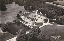 MAUVES-sur-LOIRE. - Château De La Seilleraye. Belle Vue Aérienne. CPSM 9x14 - Mauves-sur-Loire