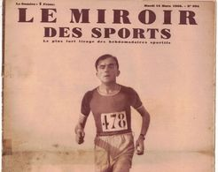 LE MIROIR DES SPORTS 994 1938 BORDEAUX LALANNE BAER FARR MEGAN TAYLOR LILY LOTH JAMES WILLIAMS MALLET GIANELLO  WHONER - 1900 - 1949