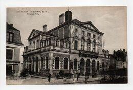 - CPA NOGENT-LE-ROTROU (28) - Hôtel De Ville (avec Personnages) - Edition Renoult 310 - - Nogent Le Rotrou