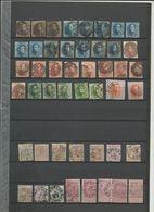 Verzameling Klassieker Ocb 1 En 2  3 X  Plus Nog Andere Betere En Enkele Mooi Gestempelde Zeer Hoge Cote - Belgium