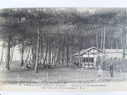 Carte Postale De Pyla-sur-Mer, Restaurant La Chaumière, Superbe Affranchissement - Autres Communes