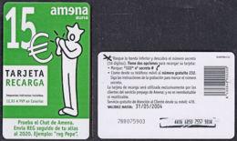 Tc005 SPAIN 2002, 15 Euros Phonecard - Espagne