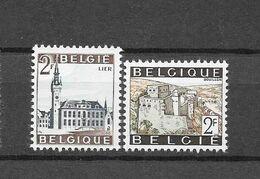 België  1966 Y&T 1397/98 (**) - Unused Stamps