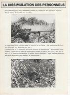 1866 Cours  Ecole Application De L'Infanterie DISSIMULATION DES PERSONNELS  Photos - Books