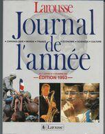 JOURNAL DE L'ANNEE 1992 - Encyclopedieën