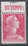 +France Advertising {317}. Yvert 1011. Braun 1244. DU TEMPS. Used - Publicités