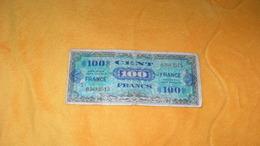 BILLET DE 100 FRANCS VERSO FRANCE..SERIE 1944...N°03683515.. - Schatkamer