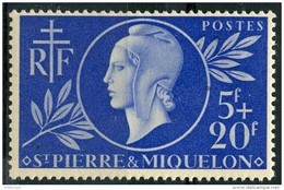 Saint Pierre Et Miquelon (1944) N 314 * (charniere) - Ongebruikt