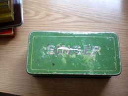 Old Tin Box Singer - Boîtes/Coffrets