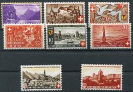 Schweiz-Switzerland-Suisse: Pro Patria 1938, 1939, 1941, 1942, 1943 ** Postfrisch / MNH / Neuf - Pro Patria