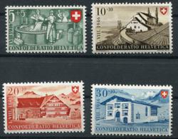 Schweiz-Switzerland-Suisse: Pro Patria Mi. 471-474 1946 ** Postfrisch / MNH / Neuf - Pro Patria