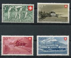 Schweiz-Switzerland-Suisse: Pro Patria Mi. 480-483 1947 ** Postfrisch / MNH / Neuf - Pro Patria