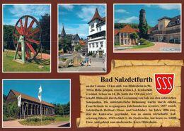 1 AK Germany / Niedersachsen * Chronikkarte Der Stadt Bad Salzdetfurth - Mit Wappen * - Bad Salzdetfurth