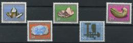 Schweiz-Switzerland-Suisse: Pro Patria Mi. 714-718 1960 ** Postfrisch / MNH / Neuf - Pro Patria