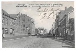 Montaigu . - La Poste Et Collège Des Frères De N.D. De Miséricorde . -   Scherpenheuvel - De Post En Collegie Der Broede - Bélgica