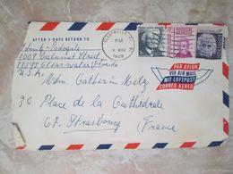 2 Lettres Pour Les Etats Unis - Cartas