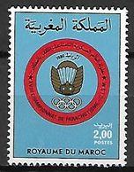 MAROC    -   1986 .    Y&T N° 1010 **.   Parachutisme - Morocco (1956-...)