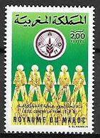 MAROC    -   1986  .   Y&T N° 1014 **.    F.A.O.  /   Lutte Contre La Faim - Morocco (1956-...)