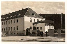 BADE WURTEMBERG - CP ANIMEE TÜBINGEN - MILITARIA CASERNE MAUD HUY - COLLECTION CINEAU ED. LA CIGOGNE  - ECRITE 1952 - Tuebingen