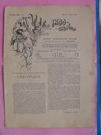Journal LA VIE INDO-CHINOISE 2 Janvier 1897 Dessins Humoristiques Directeur Albert Cézard Indochine Hanoï - Zeitungen