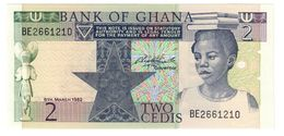 GHANA2CEDIS06/03/1982P18UNC.CV. - Ghana