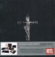"CD + D-V-D + SP  Johnny Hallyday  ""  Jamais Seul  "" - Musique & Instruments"