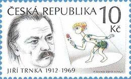 710 Czech Republic Jiri Trnka, Painter, Puppet Film Creator 2012 - Puppets