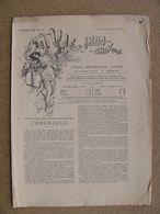 Journal LA VIE INDO-CHINOISE 11 Septembre 1897 Dessins D' Albert Cézard Directeur Et Peintre Indochine Hanoï - Zeitungen