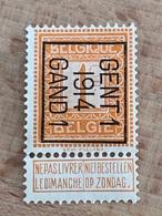 46B Gent 1 1914 Gand 1 TB - Vorfrankiert