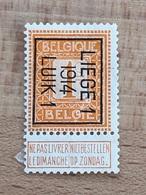 48B Liège 1 1914 Luik 1 TB - Vorfrankiert