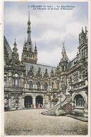 76 Fecamp. La Benedictine. Le Clocher Et La Cour D'honneur - Fécamp