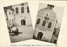 """CP De LIMBOURG """" Souvenir De L'enlevement Des Cloches Le 13 Janvier 1944 """"   RARE - Limbourg"""