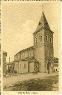 """CP De VILLE-du-BOIS ( Vielsalm ) """" L'Eglise """" Avec Taxe N° 35 Au Verso  RARE - Limbourg"""