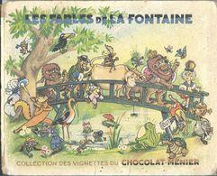 CHOCOLAT MENIER - LES FABLES DE LA FONTAINE - Chocolat