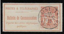 France Timbres Téléphone N°29 - Oblitéré - Plis - B - Télégraphes Et Téléphones