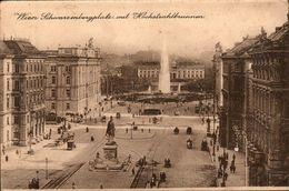CP ANIMEE WIEN - SCHWARZENBERGPLATZ MIT HOCHSTRAHLBRUNNEN - PHOTOBROM 4 - Vienna Center