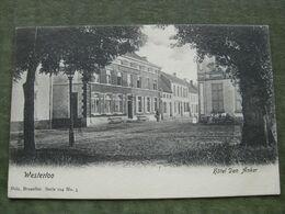 WESTERLOO - HOTEL DEN AKER 1904 ( 2 Scans ) - Westerlo