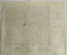 Puglia - Carta Topografica Dell'Istituto Geografico Militare, Foglio 189 Della Carta D'Italia, SANTERAMO IN COLLE, 1950 - Carte Topografiche