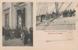 Cartolina - Postcard / Non Viaggiata - Unsent /  Napoli,  Comando Militare Permanente - Napoli
