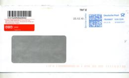 Lettre Flamme Frankit  Service Center  Tnt Post - Marcophilie - EMA (Empreintes Machines)