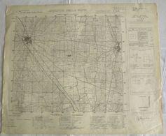 Puglia - Carta Topografica Dell'Istituto Geografico Militare, Foglio 189 Della Carta D'Italia, ACQUAVIVA DELLE FONTI - Carte Topografiche