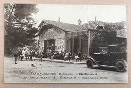 * RARE Belle Cpa Animée * Les Baumettes- Restaurant A.Rimbaud. Ed. Tardy - Quartiers Sud, Mazargues, Bonneveine, Pointe Rouge, Calanques