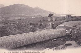 ILE ROUSSE(MONOLITHE) - Dolmen & Menhire