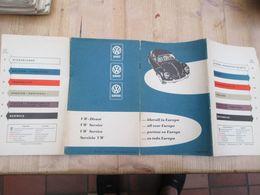 Volkswagen Service Europa 1961 Beatle - Europe