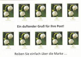 Alemania Nº 2677 En Hoja De 10 Sellos - Markenheftchen