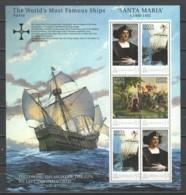 Grenada - MNH Sheet - MS SANTA MARIA - CHRISTOPHER COLUMBUS - Bateaux