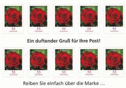 Alemania Nº 2495 En Hoja De 10 Sellos - Markenheftchen